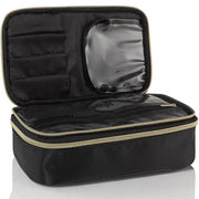 black gold makeup bag organiser organizer case designer best hindmarch