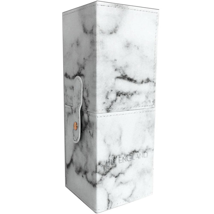 Makeup Brush Holder Case - Marble