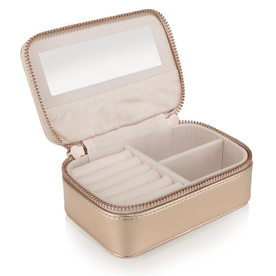 Jewellery Case - Rose Gold