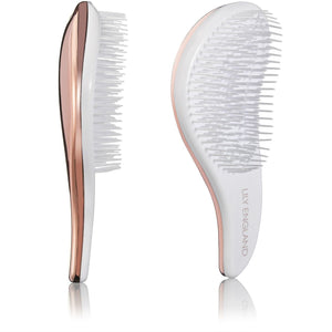 Detangling Hairbrush Set - Marble & Rose Gold