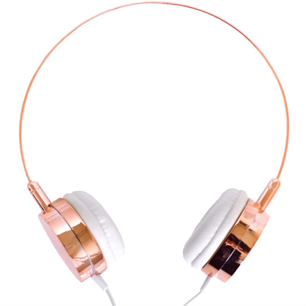 rose gold headphones with microphone lily england. Black Bedroom Furniture Sets. Home Design Ideas