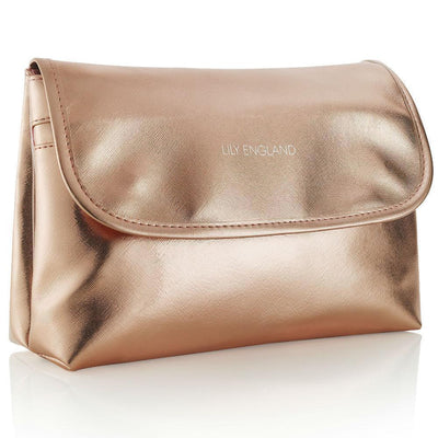 Large Makeup / Wash Bag - Rose Gold
