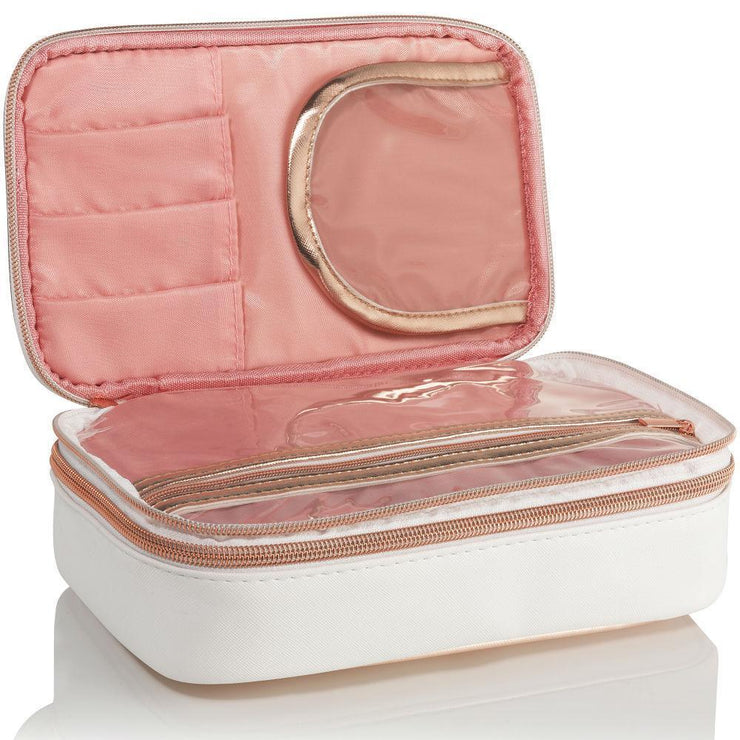 rose gold makeup bag organiser organizer case large
