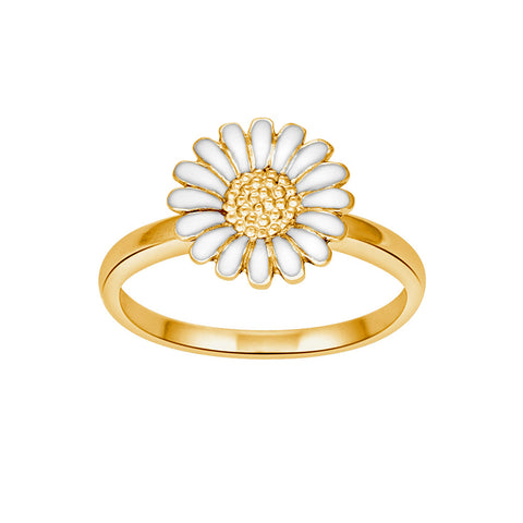 Siersbøl - Marguerit ring - 10 mm