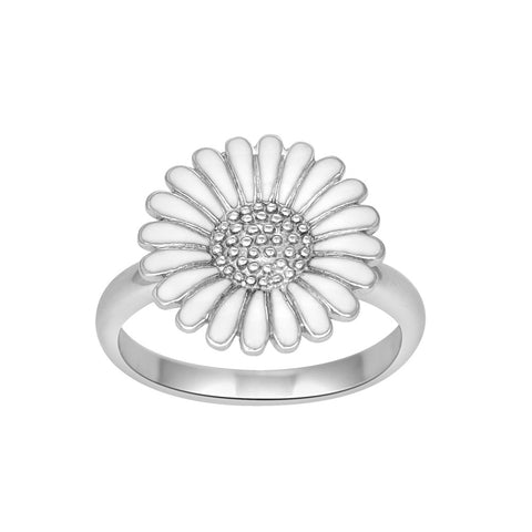 Siersbøl - Marguerit ring - 15 mm