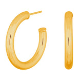 Nordahl Jewellery - Simple, Chunky Hoops 30 mm