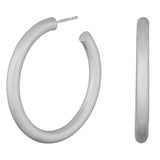 Nordahl Jewellery - Simple, Chunky Hoops 35 mm