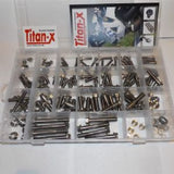 Titan-X: Pre drilled sump bolts making scruiteering requirements easier!