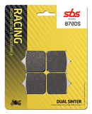 SBS Racing DS Dual Sinter Brake Pads - FOR RACE USE ONLY