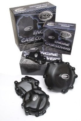 Engine Case Cover Kit (2pc) for Aprilia RSV4 '09'-14 and Tuono V4 '11-