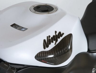 Tank Sliders for Kawasaki ZX6-R/ZX10-R for tanks with ninja decal.