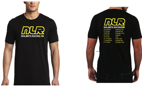 """NLR"" No Limits Racing 2018 Race Season T-shirt Clearance"