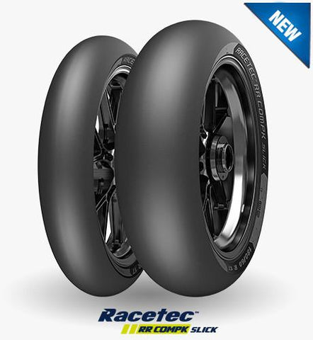 You need to try the NEW IN 2018 Metzeler Racetec RR CompK Slick - The Perfect Racetrack Companion - EURO