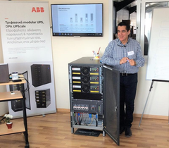 ABB Modular UPS solutions to Server Room and Data Center Blackout problems for maximum availability and up-time.