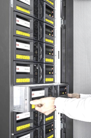 ABB UPScale Modular UPS protection against electricity problems, offers Redundancy, Expandability, Serviceability