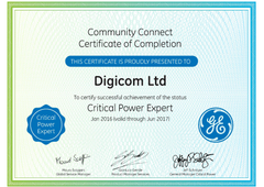 Critical Power Expert Certificate 2016