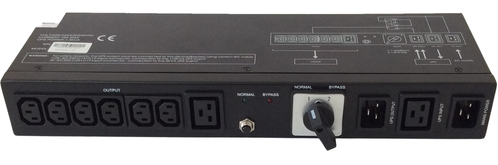 Manual Service By-Pass Switch for 1-3kVA UPS