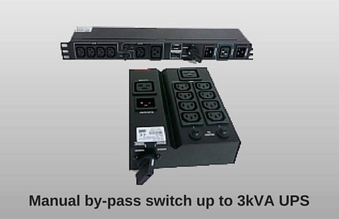 Manual By-Pass Switch for UPS 3kVA