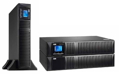 On Line Double Conversion UPS - ABB PowerValue 11RT G2 B, 3kVA 2U, Premium Series, Rack/Tower