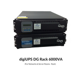 digiUPS DG Rack - On Line Double Conversion UPS 6000VA