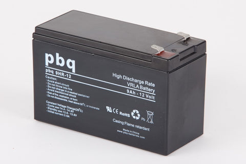 Pbq Batteries 9Ah High Rate