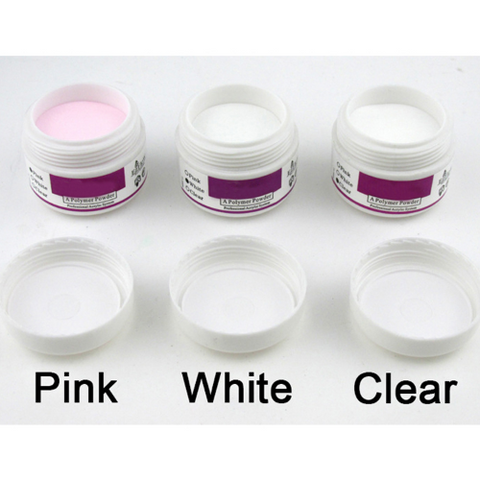 3 Pcs/Set Nail Art Acrylic Polymer Powder
