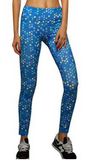 Printed Active Sport Full Length Leggings