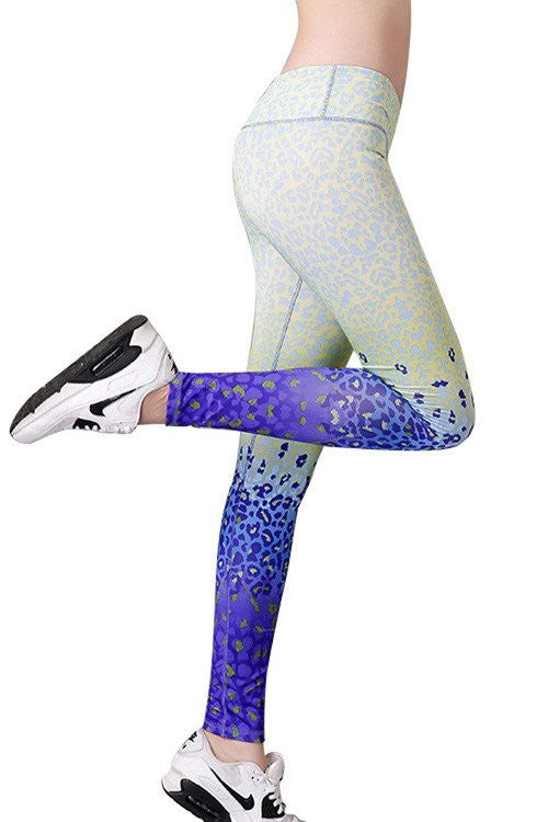 Active Wear Full Print Sport Leggings
