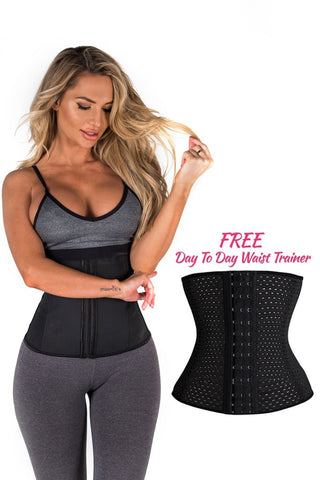 Zipper Waist Trainer (With Free Day To Day Waist Trainer)