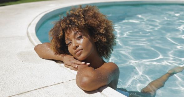 Swimming With Natural Hair:  Healthy Natural Hair Care Tips