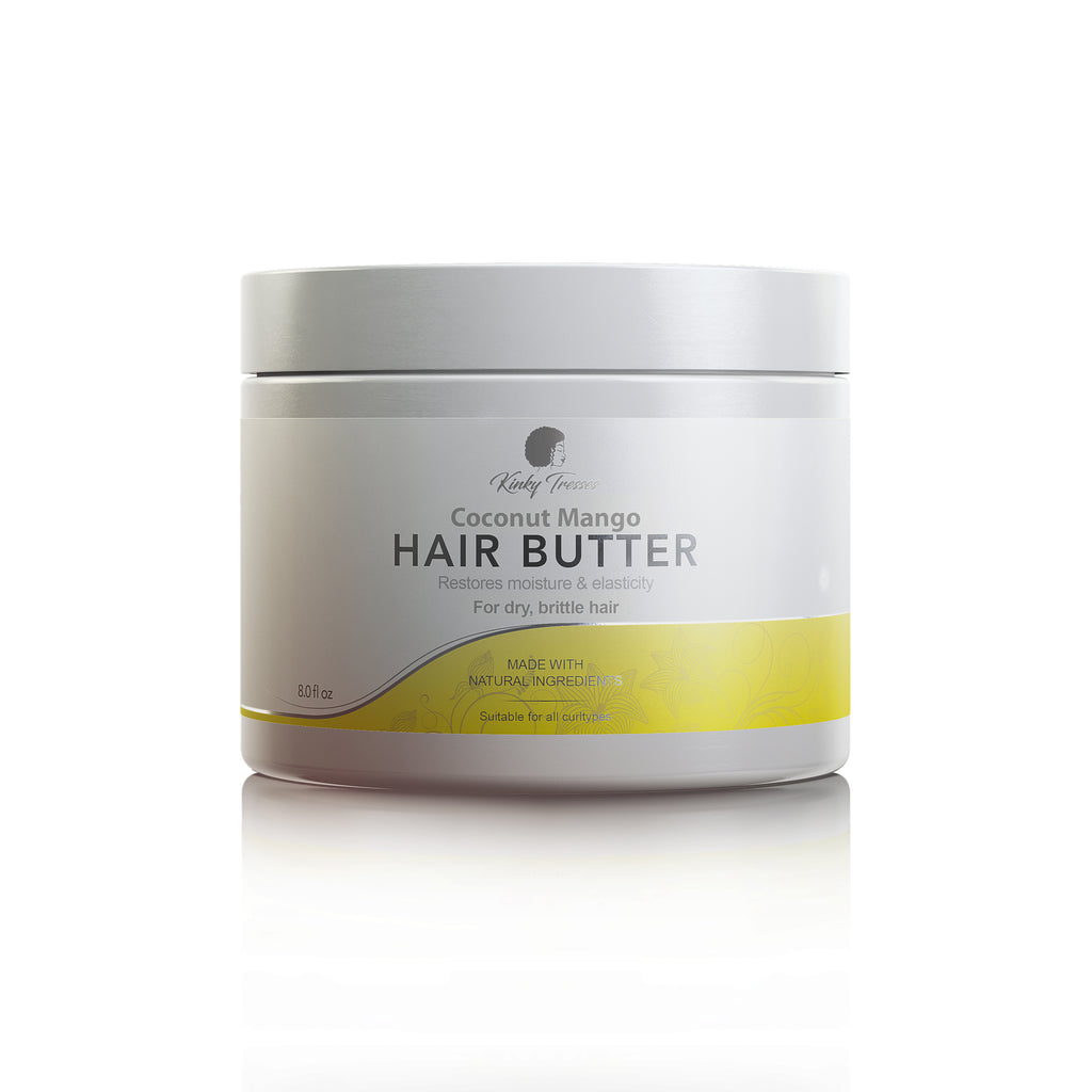 Coconut Mango Hair Butter (8 oz)