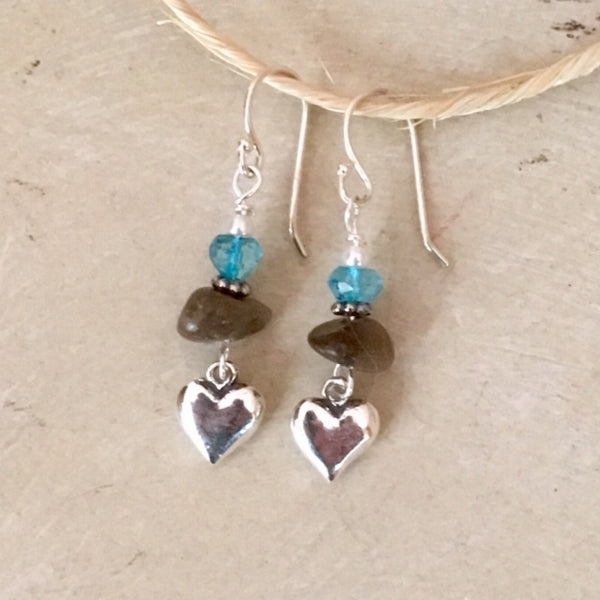 Great Lakes Love Earrings