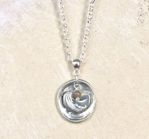 Petoskey Wax Seal Necklace