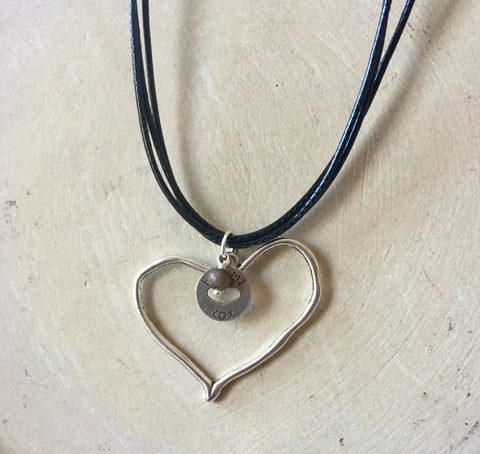 "Petoskey ""Open Hearted"" Necklace"