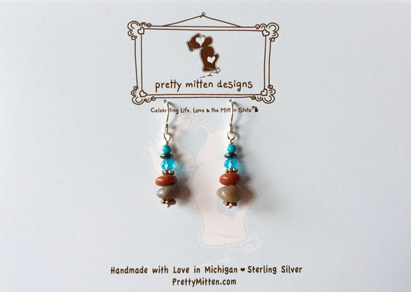 Michigan Mix Earrings