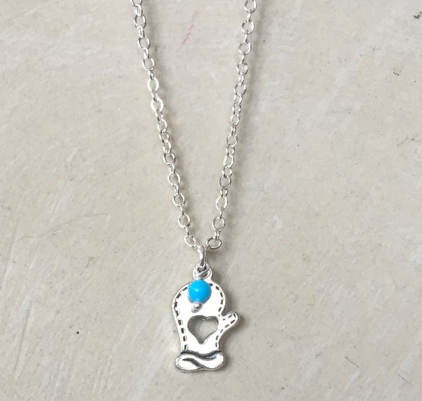 Pretty Mitten Necklace