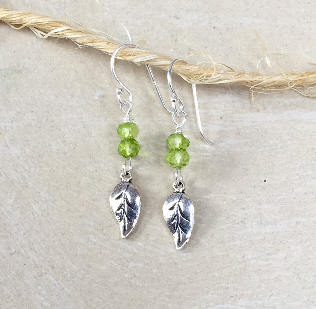 Spring Leaves Earrings