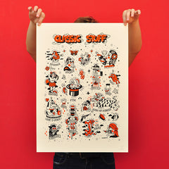 "OLIVIER CHAOS ""Classic Stuff"" Screen Print"