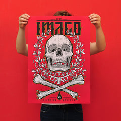 "SAFWAN ""Imago"" Screen Print"