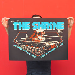 "THE SHRINE ""Hellfest 2016"" Screen Print"