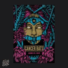 "CANCER BATS ""HELLFEST 2019"" SCREEN PRINT"