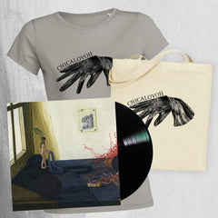 "CHICALOYOH ""LP Women T-shirt & Tote Bag"" Bundle"
