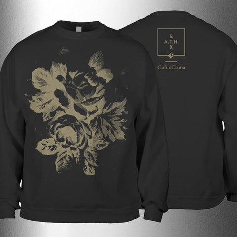 "CULT OF LUNA ""S.A.T.H. - 10th Anniversary - Flowers"" Crewneck Sweat"
