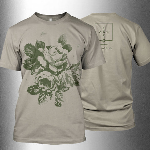 "CULT OF LUNA ""S.A.T.H. - 10th Anniversary - Flowers"" T-shirt Beige"