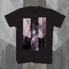 "CULT OF LUNA ""Vertikal Lines - Purple"" Women T-shirt"