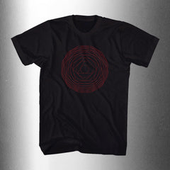 "CULT OF LUNA ""Polygon"" Men T-Shirt - Black"