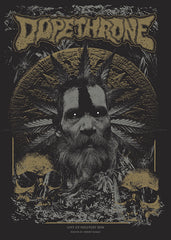 "DOPETHRONE ""Hellfest 2018"" Screen Print"