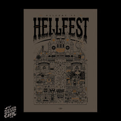 "DOCTEUR PAPER ""HELLFEST 2019"" SCREEN PRINT"