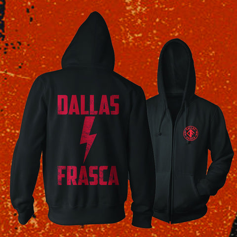 "DALLAS FRASCA ""LIGHTENING BOLT"" Zip Up Hoodie"