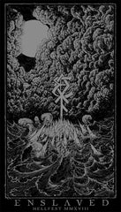 "ENSLAVED ""Hellfest 2018"" Screen Print"